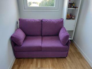 Sofa-cama nuevo. cama de 120 centímetros.