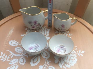 Juego de porcelana vintage