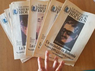 Fascículos novelas Sherlock Holmes