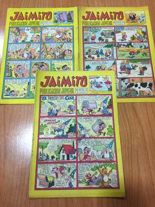 Revistas Jaimito años 70