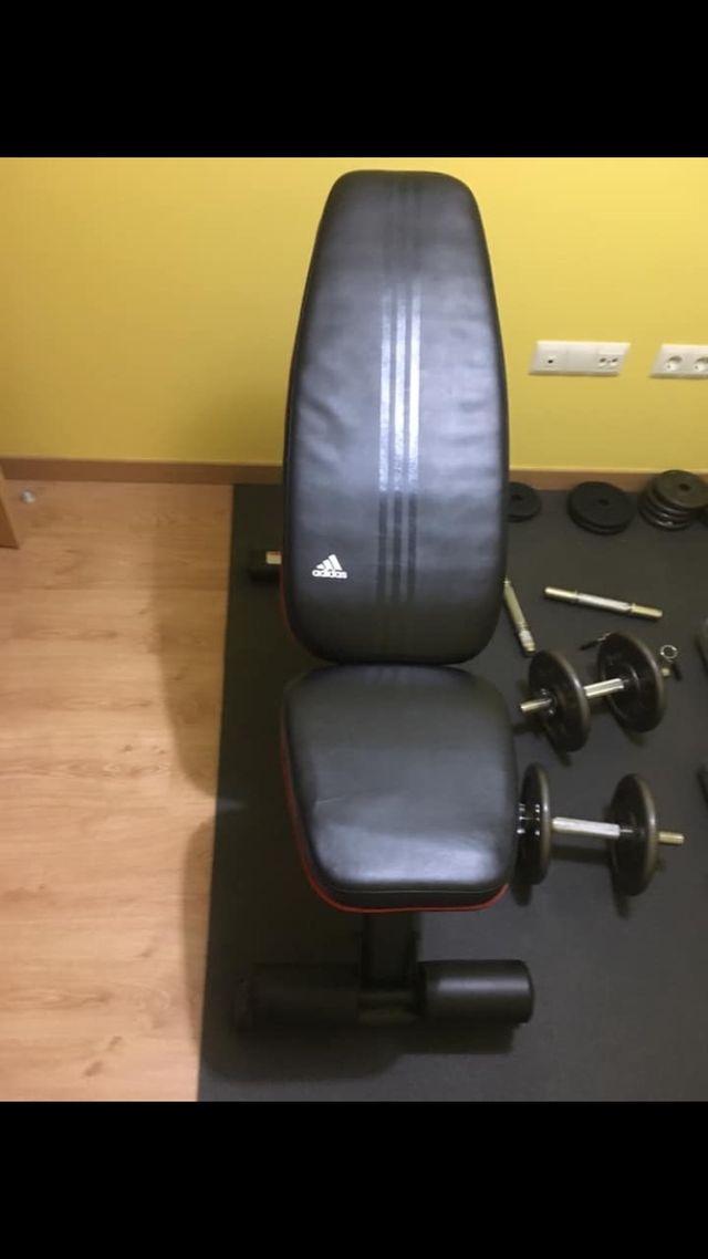 Banco de pesas Adidas