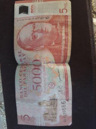 billete de Paraguay