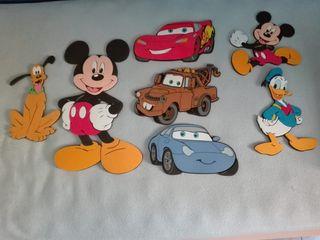 Figuras goma eva Disney y Pixar