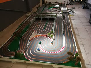 Scalextric / Slot en madera