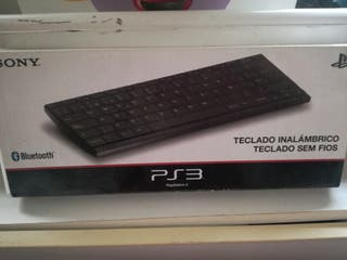 PLay station 3 teclado inalámbrico