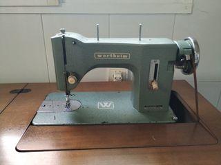 Maquina de coser antigua marca Wertheim de segunda mano