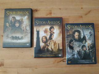 """Trilogía DVD """"El señor de los anillos"""""""
