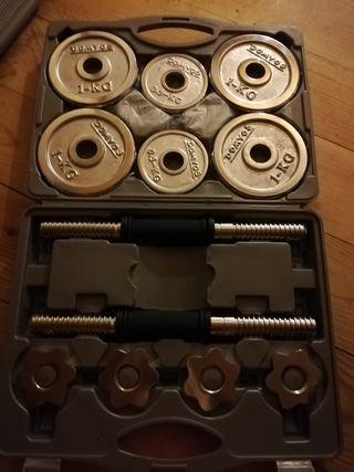 maletin de pesas