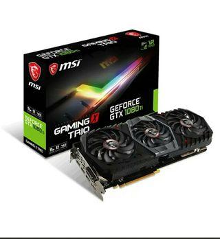 NVIDIA MSI GTX 1080 TI TRIO 11GB DDR5