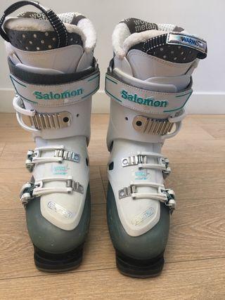Botas de esqui mujer Salomon