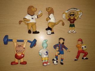 Figuras PVC mascotas futbol deportes maia Borges