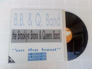 Vinilo MAXI B.B. & Q. BAND ON THE BEAT 87/88 BRONX