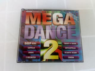 2 x CD MEGA DANCE 2