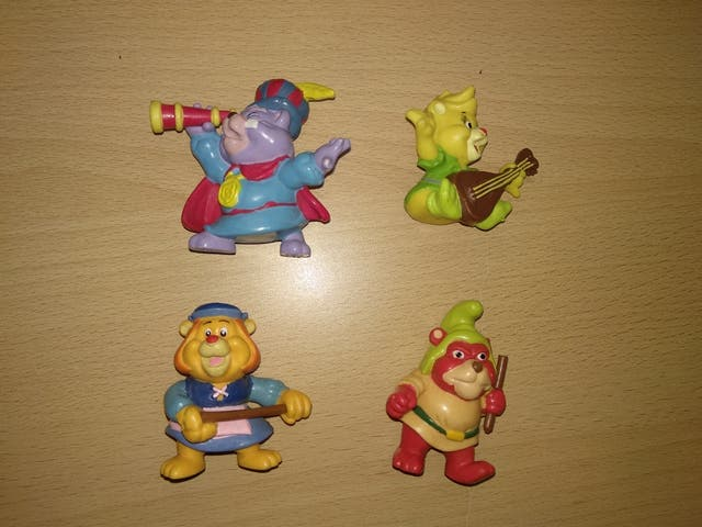 Figuras Osos gummy Disney PVC applause dibujos