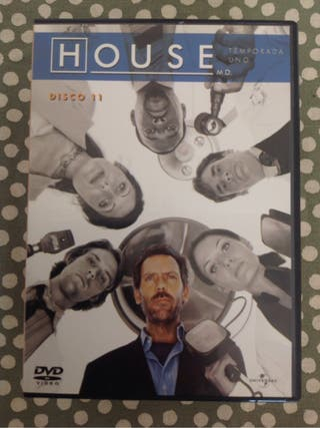 """House"" temporadas 1 y 2 dvd"
