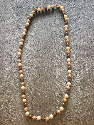677c6f4cfed9 Collar de perlas naturales de segunda mano en Madrid en WALLAPOP
