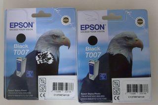 2 cartouches imprimante EPSON T007 neuves