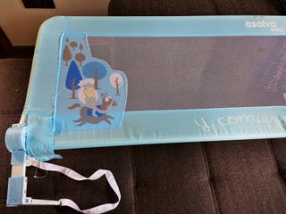 Barrera para Cama Nido Azul 150cm Asalvo Baby