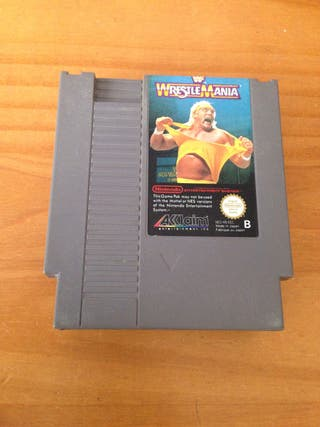 Wrestlemania. Nes