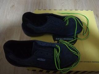 zapato de seguridad talla 38
