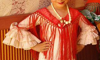 Traje Flamenca niña talla 6