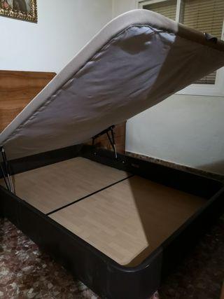 Canapé 135 x 190 Madera