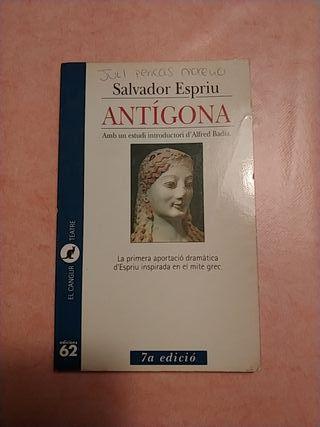 Antígona de Salvador Espriu