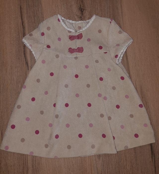 Vestido Mayoral talla 6 - 9 meses