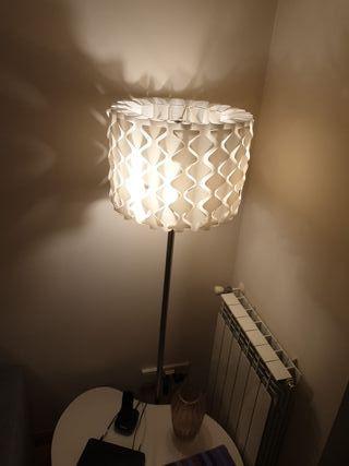 lampara de pie - bombillas led 60 w x 3 bombilla