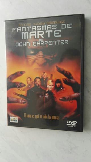 Fantasmas de Marte Jhon Carpenter DVD