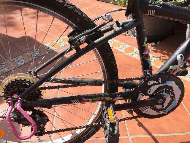 Bicicleta 24 pulgadas Decathlon