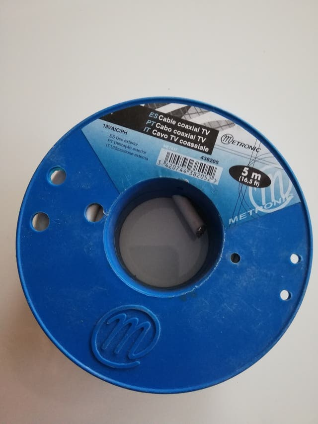 Cable coaxial TV 5m