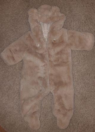 Buzo oso zara baby talla 3 - 6 meses