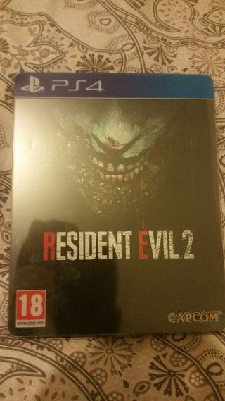 Vendo resident evil 2 remake de ps4
