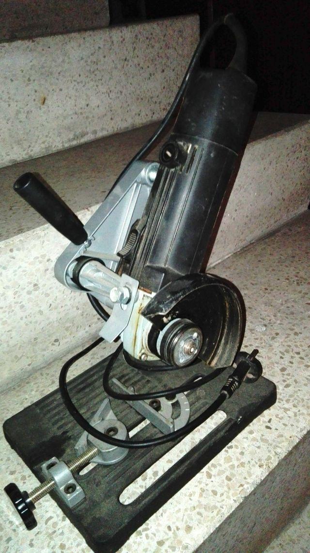 Amoladora 500w con soporte