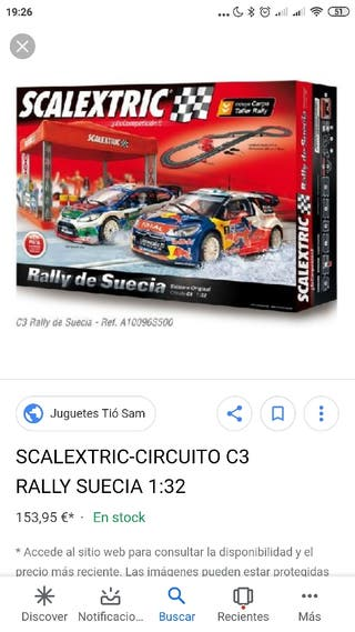 scalextric rally de Suecia
