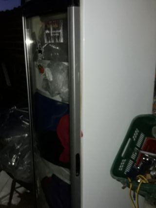nevera de puerta de cristal