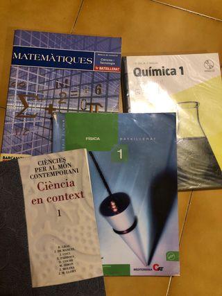 Libros de texto de 1ro de Bachillerato
