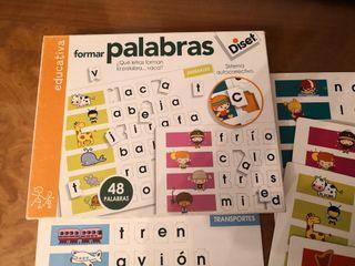 juego educativo formar palabras
