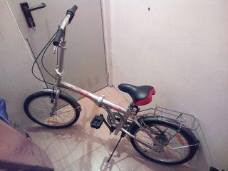 Bicicleta plegable Jett Folding Aluminio