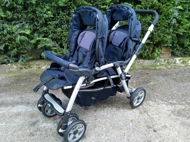 Carrito gemerlar JANÉ TWIN TWO
