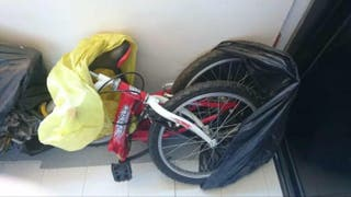 "Bicicleta plegable chico Topbike Young Drive 20"""