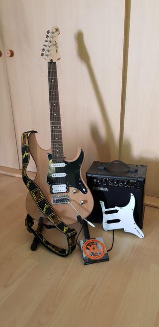 Articulo 27 - Guitarra electrica + aplificador