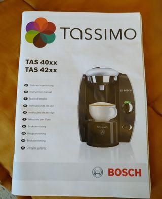 Cafetera Tassimo Bosch NUEVA