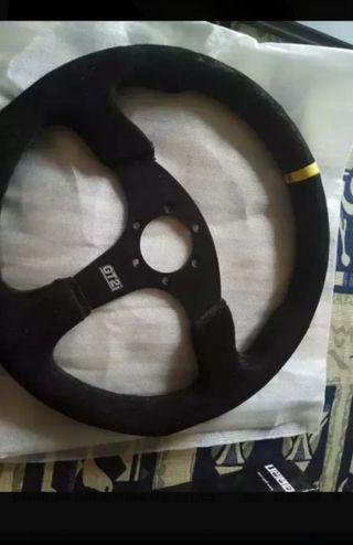 volante deportivo plano