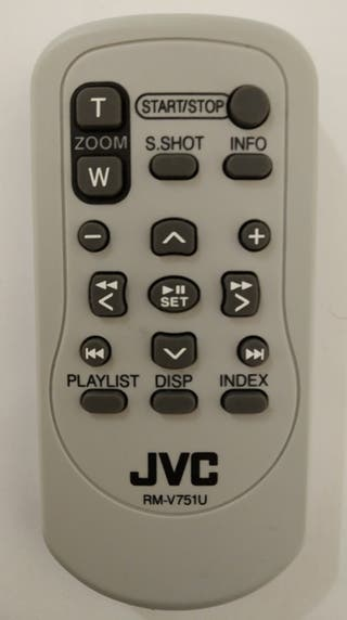 Mando a distancia JVC RM-V751U
