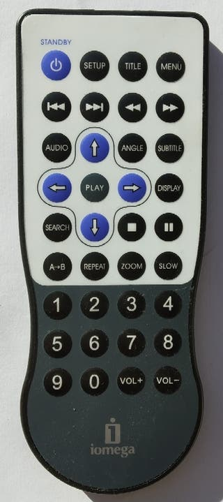 Mando a distancia Iomega Screen Play TV Link