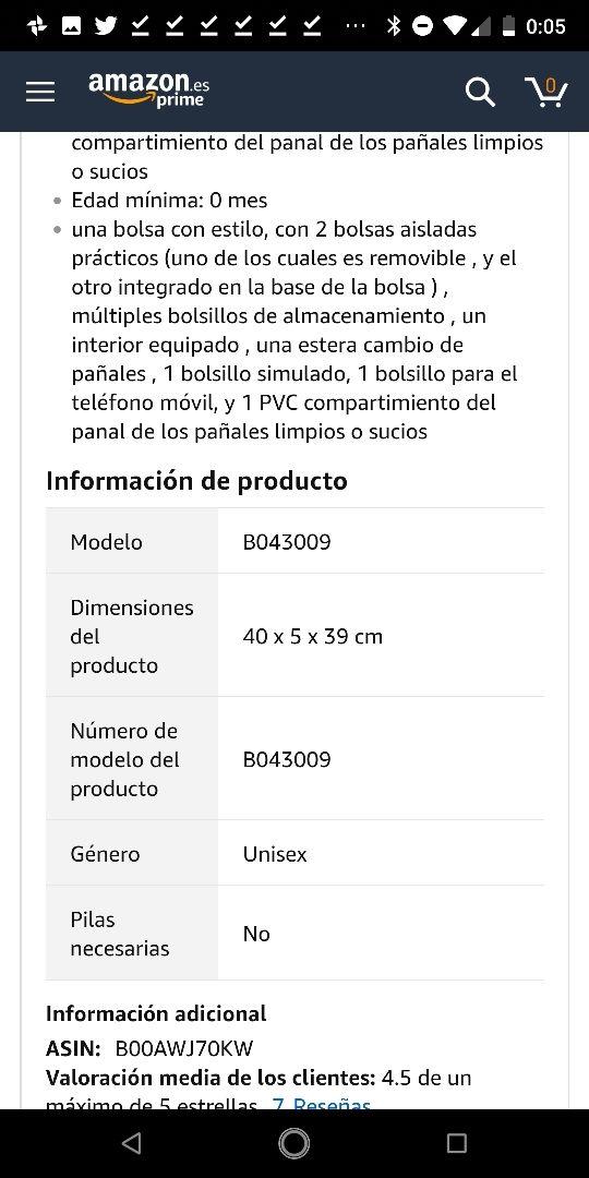 Badabulle B043009 - Bolso cambiador.