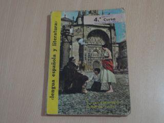 Libro antiguo. Lengua española y literatura