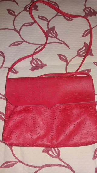 Bolso coral pull and bear